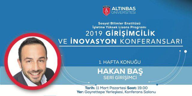 11.03.2019 Girişimcilik ve İnovasyon