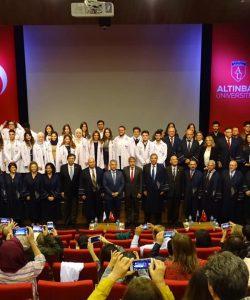 19.11.2019 Tıp Fakültesi Beyaz Önlük Giyme Töreni
