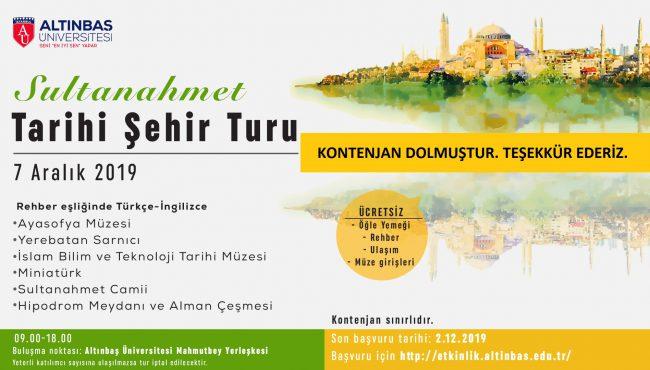 Sultanahmet Turu TV Yansı son